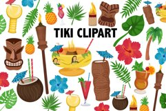 Tiki Clipart Product Image 2