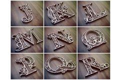 A-Z Layered Letters Bundle, Alphabet letters Bundle Product Image 2