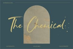 The Chemical Brush Font Product Image 1