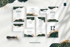 Tropical Abstract Wedding Suite Product Image 5