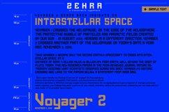 ZEHRA Modern Sans Serif Product Image 5