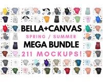 Ultimate TShirt Mockup Bundle Bella Canvas Gildan Next Level Product Image 3