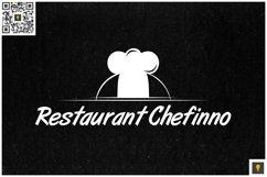 Restaurant Chefinno Logo White