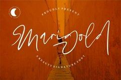 Web Font Marigold - Beauty Signature Font Product Image 1