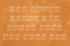 Calendar handwritten font Product Image 3
