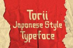 Torii - Japanese Style Typeface Product Image 1