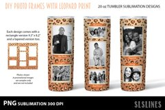 Skinny Tumbler Sublimation - Leopard Print Photo Frames Product Image 6