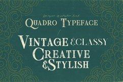 Quadro - Display Font Product Image 3