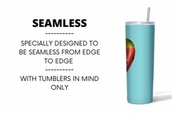Watermelon Tumbler Sublimation   20 oz   Taper   Straight Product Image 3