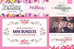Web Font Mini Bundles Craft Fonts $1/Font Product Image 1