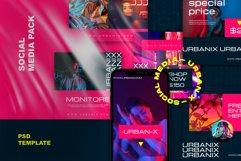 Urbanix - Post & Stories Instagram Template Product Image 1