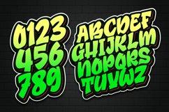 Broster - a Graffiti Font Product Image 4