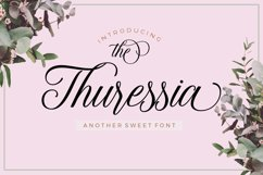 The Thuressia Script Product Image 1