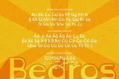 Bedros Font Product Image 5