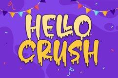 Hello Crush - Halloween Font Product Image 1