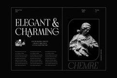 Chemre - Elegant Serif Product Image 2