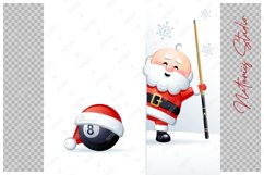 Merry Christmas and Happy New Year. Billiard. Product Image 3