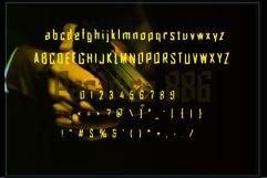Paradise 886 Font display Product Image 2