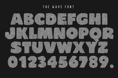 The Wave Font Product Image 2