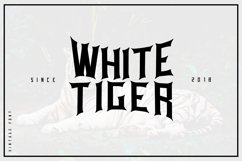 White tiger Product Image 1