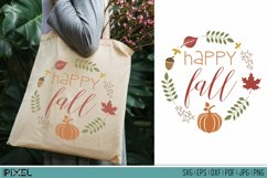 Fall Bundle SVG, Autumn Bundle, Thanksgiving, EPS DXF PNG Product Image 2