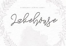 Lakehouse - Fancy Script Font Product Image 1