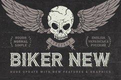 Biker Remastered font + graphics Product Image 1