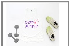 Gym Junkie Fitness Exercise SVG Product Image 2