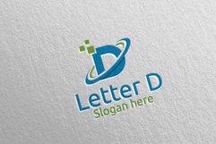 Letter D Digital Marketing Financial Logo 74 Product Image 1