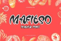 Mafieso - Playful Font Product Image 1