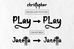 christopher-display font and texture version Product Image 2