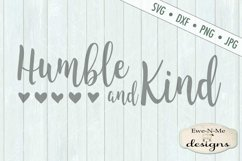 Humble and Kind - Hearts - SVG DXF Files Product Image 2