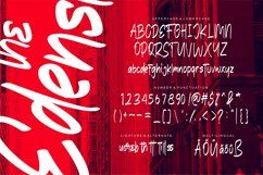 The Edensick   Handwritten Font Product Image 4