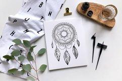 Dreamcatcher | dream catcher svg | dreamcatcher tattoo Product Image 2