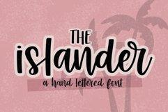 Islander - Hand Lettered Script font - crafting font Product Image 1