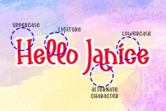 Another Girlie - Cute Handwritten Font Product Image 2