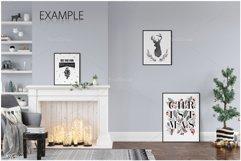 Christmas Frame & Wall Mockup Bundle Product Image 6