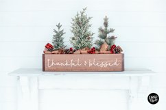 FLANNEL SHIRT a Farmhouse Christmas Script Product Image 4