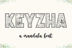 KEYZHA Mandala Font Product Image 1