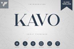 Kavo Serif Typeface | 5 weights Product Image 1