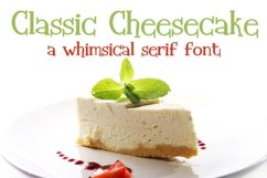 ZP Classic Cheesecake Product Image 1