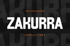 ZAKURRA Font Product Image 1