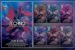 Electro Reloaded Photoshop Flyer Template Product Image 1