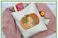 Patchwork Hello Pumpkin Fall Sublimation Design Product Image 2