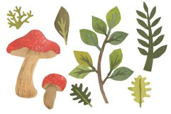 Papercut Forest Clip Art Product Image 3