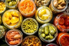 20 Photos Variety of homemade pickled food. Preserves food. Product Image 5