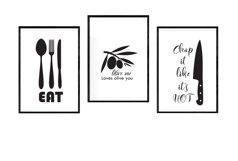 Kitchen SVG Bundle, Kitchen Towel Designs Product Image 4