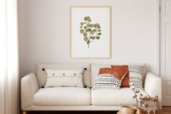 Watercolor Leaves Wall Art, Leaf Wall Print, Home Wall Decor Product Image 3