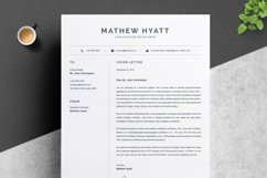 Clean Resume / CV Template Product Image 3