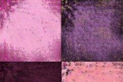 Gothic Pink & Purple Foils Digital Paper Product Image 4